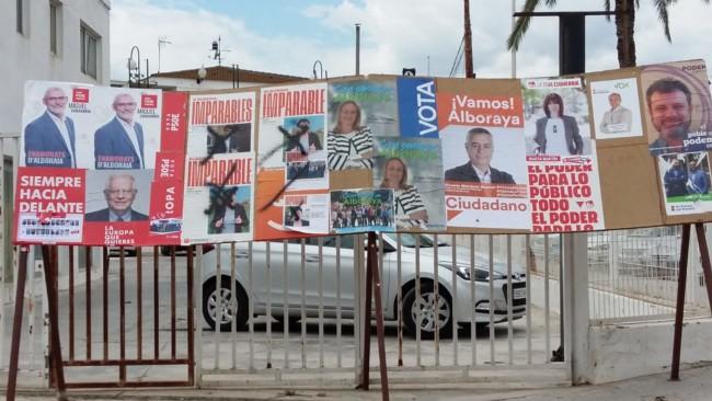 Compromis Alboraia atacs vandalics cartells electorals 2