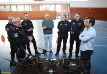 Dron Policia Local Paterna
