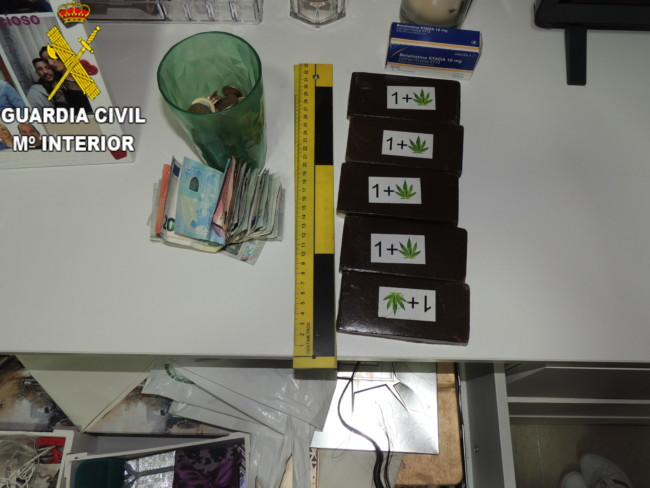 Guardia Civil Benetusser droga