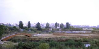 Pasarela y huertos ecológicos Quart de Poblet