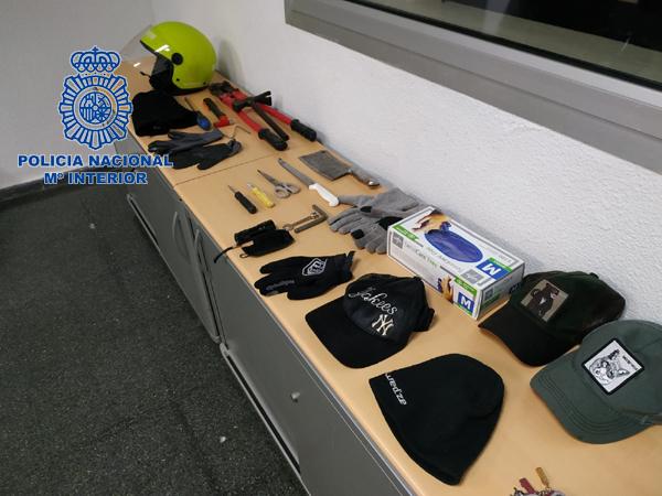 Policía Nacional robo Valencia