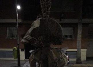Torrent Falla Sant Valeria Creu de Maig incendi