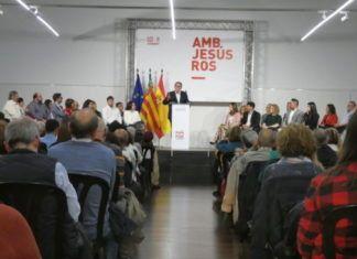 Torrent PSPV presentacion campaña Jesus Ros