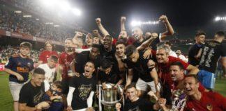 Valencia CF Copa del Rey celebracion