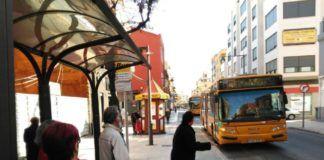 Xirivella parada autobús