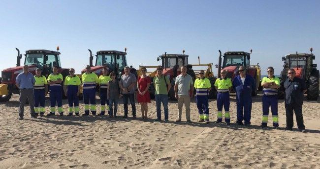 Diputación campaña limpieza playas 2019