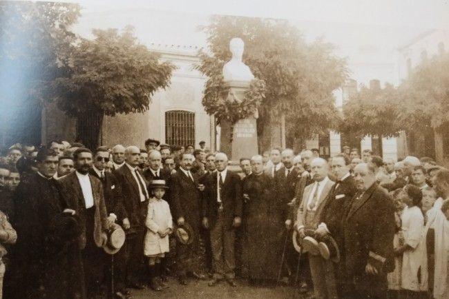 Homenatge a Benlloch i inauguració del seu bust, Meliana, 12/9/1922