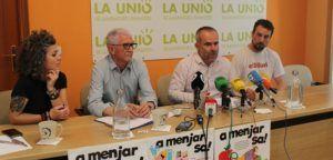 Imagen de la rueda de prensa.