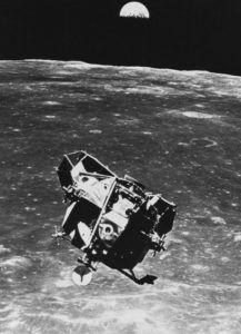 Imagen del 'Apolo 11'.