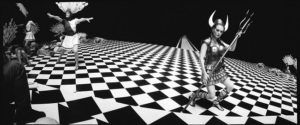 Julianne Moore en una foto realizada por Jeff Bridges.