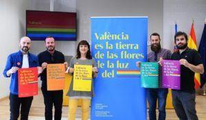 La concejala en funciones Isabel Lozano, en la presentación de la campaña del Día del Orgullo 2019.