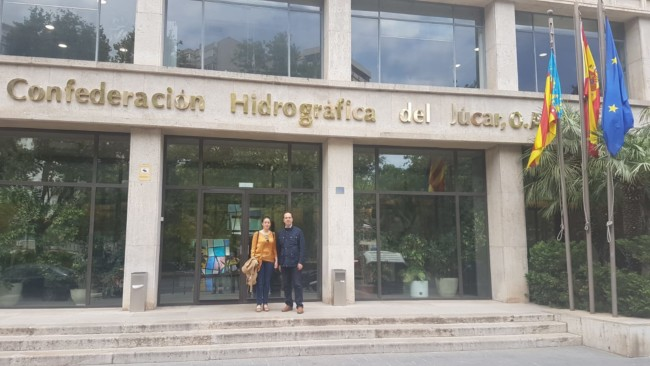 Guillermo Luján Confederación Hidrogáfica del Jucar