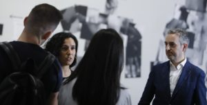 Presentacion de la exposición de Andrea Corrales.