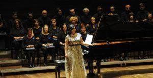 Raquel del Val en Concierto.