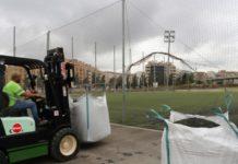 Torrent cesped parc central
