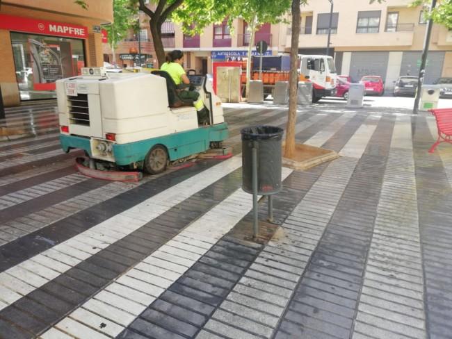 Torrent limpieza parques