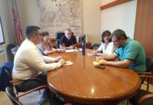 Xirivella reunion PSPV y Compromis