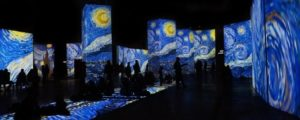 'La Noche Estrellada' en gran formato.