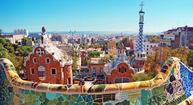 Barcelona Parque Guell Gaudí