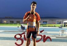 Hugo Leveque Campeon atletismo