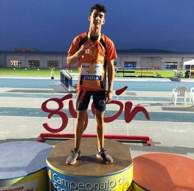Hugo Leveque Campeon atletismo
