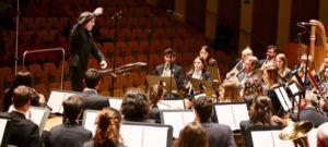 La Fundación Musical Manuel de Falla de Illescas en una actuación. (Foto-Eva Ripoll).
