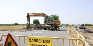 Puçol obras camí del Puig