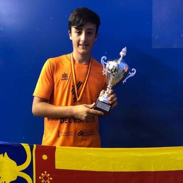 alaquaser Enrique Martí Andreu Campió d'Espanya frontenis