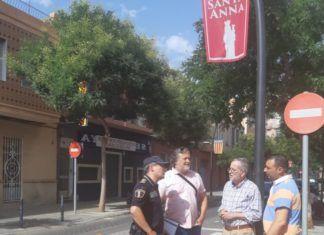 albal fiestas reunion alcalde policia local