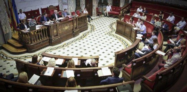valencia ayuntamiento pleno