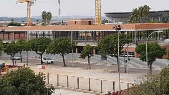 Alaquas colegio Cremona obras paralizadas
