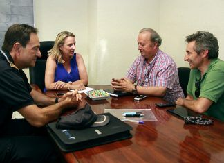 Puçol reunion Vuelta ciclista