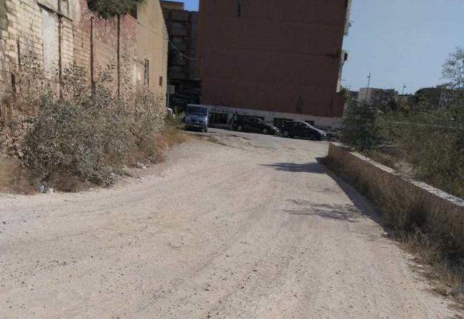 Torrent calle xenillet sin asfaltar