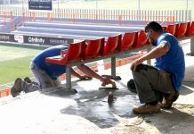 Torrent obras campo futbol Sant Gregori