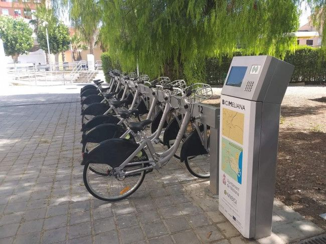 Meliana estacion bicis