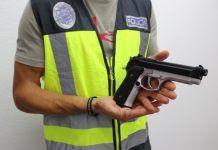 Policia Nacional pistola