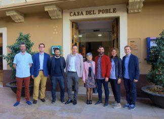 Visita conseller Marzà a Foios