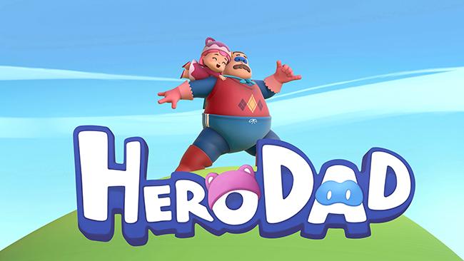 Hero Dad serie de animación hecha en Paterna