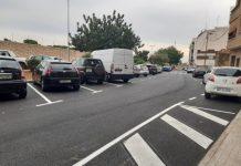 Nuevo parking calle Fco García Lorca en Paterna