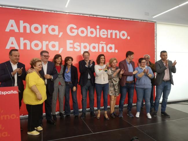 PSPV Acto Torrent Delgado, Puig, Caballero, Campos y Ros