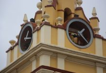 Rellotge del campanar de l esglesia de Picassent