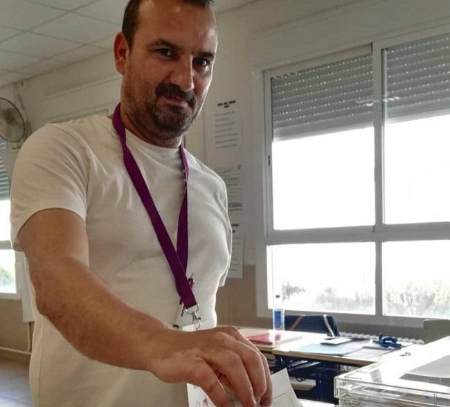 Antonio Bueno Martínez Secretario General Podemos Catarroja voto