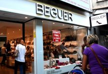 Calzados Beguer tienda Valencia