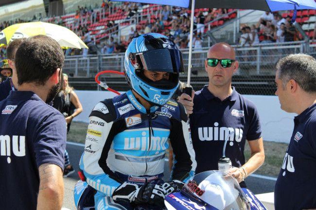 Héctor Garzo piloto de Paterna MotoE