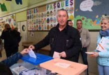 Joan Baldovi vota 10N