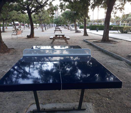 mesa ping pong parque Alaquas