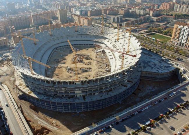 Nuevo Mestalla, futuro estadio del Valencia CF