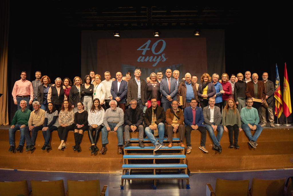 40 ANYS DEMOCRATICs a Massamagrell