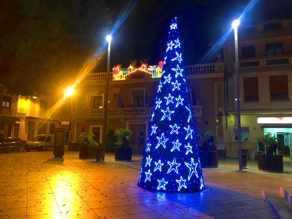 Ajuntament Foios arbre nadal
