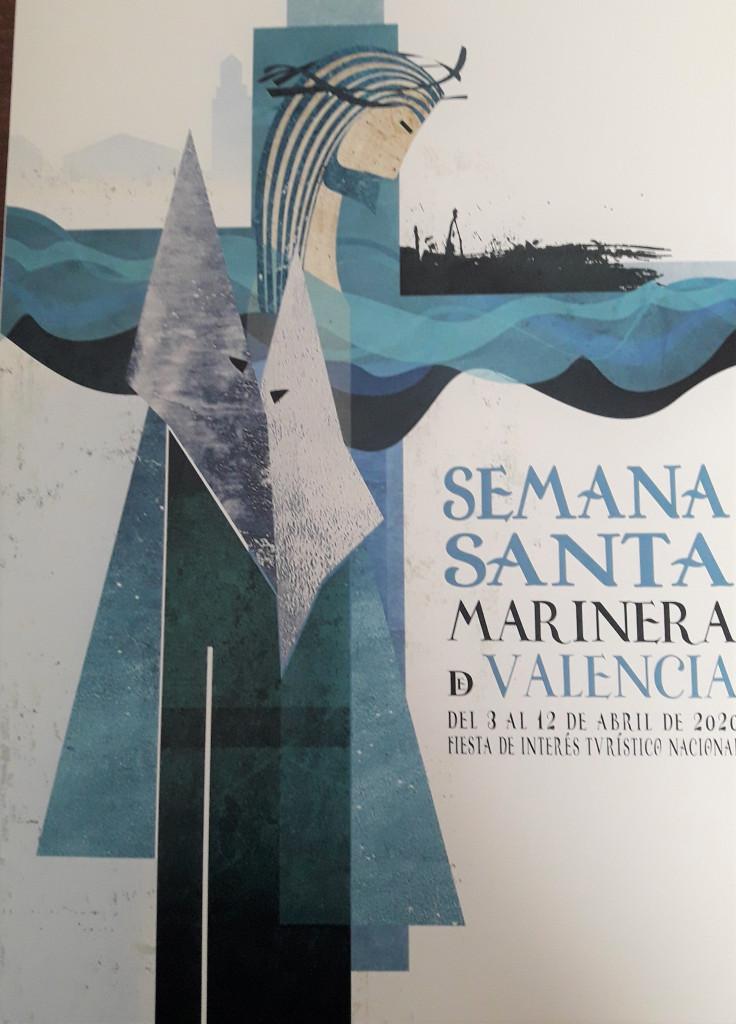 cartel Semana Santa Marinera de Valencia 2020